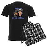 Grill Master Tristan Men's Dark Pajamas