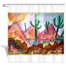 Desert! Southwest art! Shower Curtain