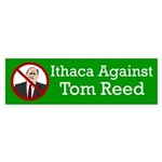 Ithaca Against Tom Reed bumper sticker