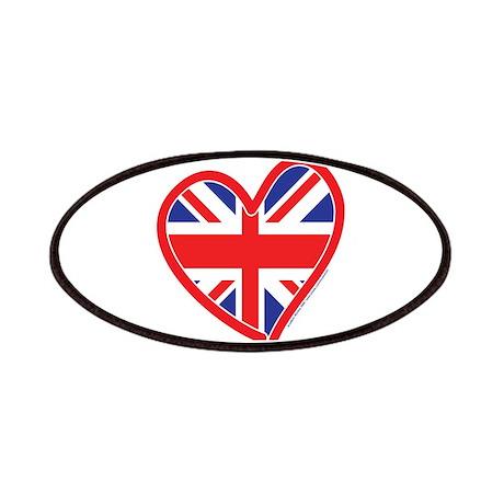 United Kingdom Union Jack Hea Patches