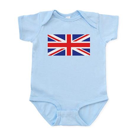 UK Union Jack Infant Bodysuit