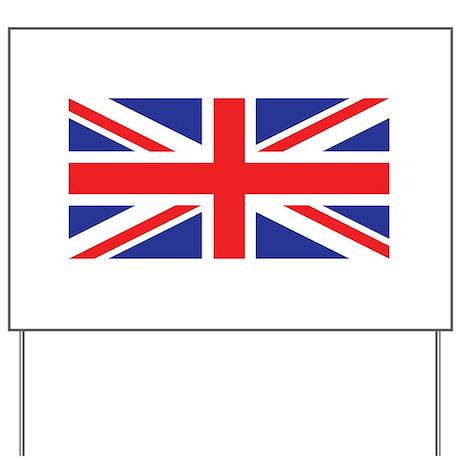 UK Union Jack Yard Sign