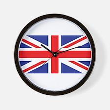 UK Union Jack Wall Clock