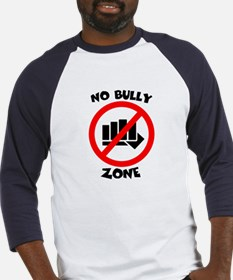 NO BULLY ZONE Baseball Jersey