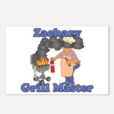 Grill Master Zachary Postcards (Package of 8)