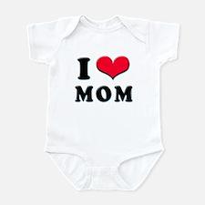 I Love Mom Infant Creeper