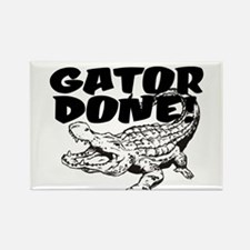 Gator Done! Rectangle Magnet