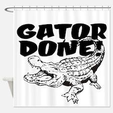Gator Done! Shower Curtain
