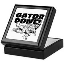 Gator Done! Keepsake Box