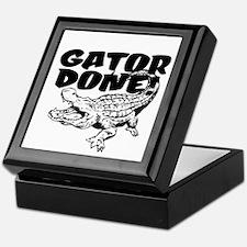 Gator Done! Keepsake Box