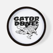 Gator Done! Wall Clock