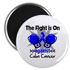"Fight is On Colon Cancer 2.25"" Magnet (100 pack)"