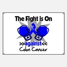 Fight is On Colon Cancer Banner