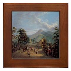 Carlingford Framed Tile