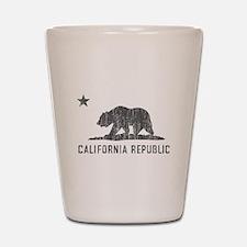 Vintage California Republic Shot Glass