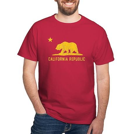 Vintage California Republic Dark T-Shirt