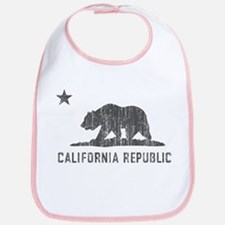 Vintage California Republic Bib