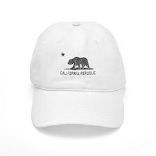 Vintage California Republic Baseball Cap