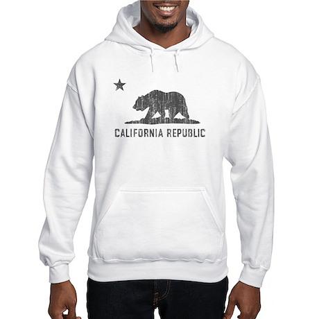 Vintage California Republic Hooded Sweatshirt