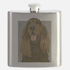 Irish setter Flask