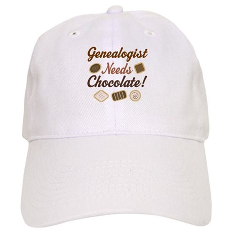 Genealogist Chocolate Gift Cap