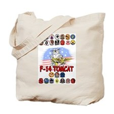 US NAVY F-14 TOMCAT TRIBUTE Tote Bag