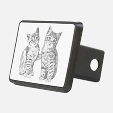 Two Tabby kittens Hitch Cover