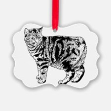 Manx Cat Ornament