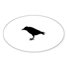crow silhouette Decal
