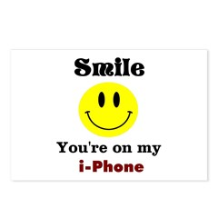 smiley i-phone Postcards (Package of 8)