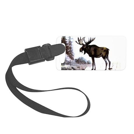 Moose Small Luggage Tag
