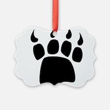 Bear paw Ornament