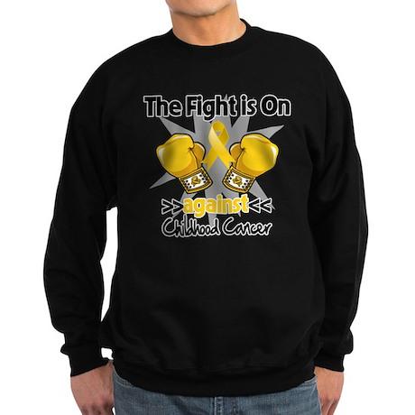 Fight On Childhood Cancer Sweatshirt (dark)