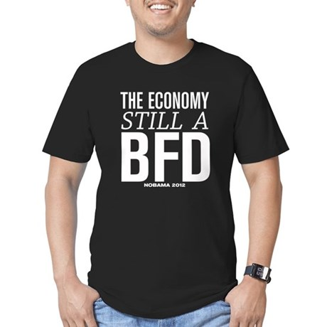 Economy BFD Men's Fitted T-Shirt (dark)