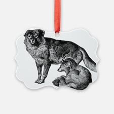 Dingo Ornament
