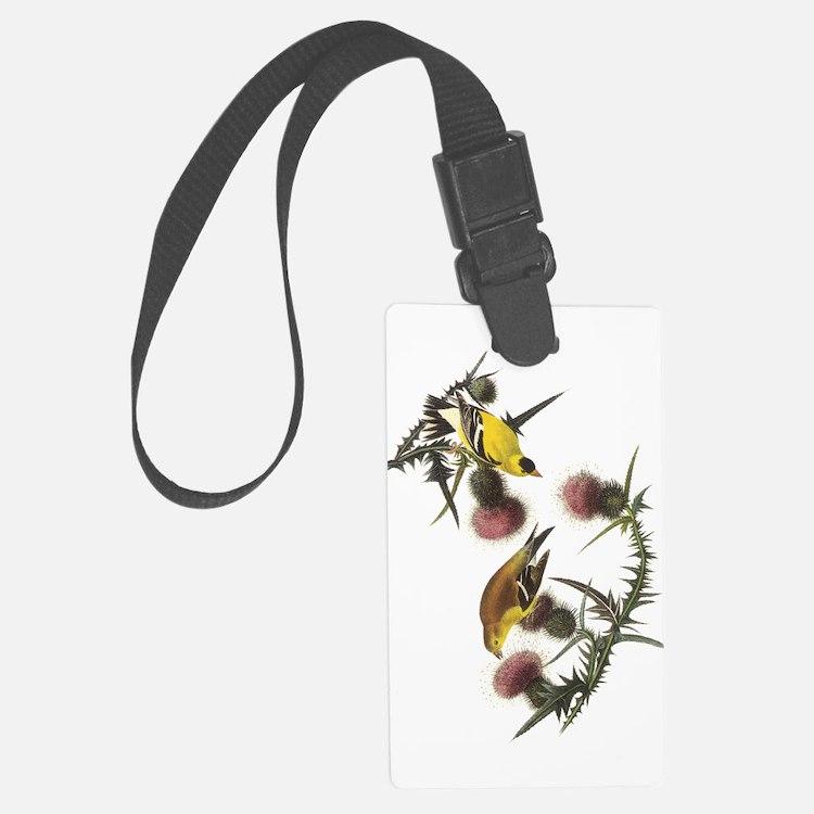 American Goldfinch Luggage Tag