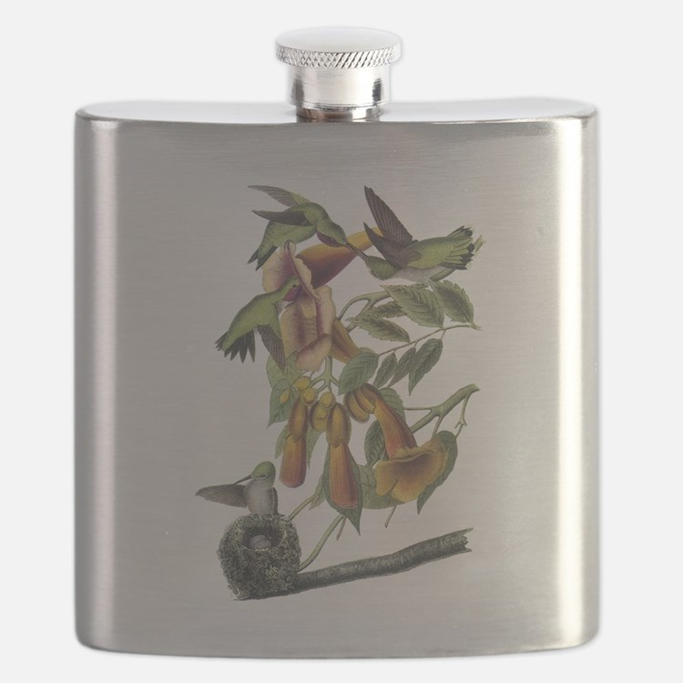 Ruby-throated Hummingbird Flask
