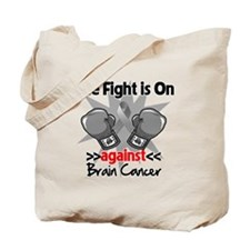 The Fight is on Brain Cancer Tote Bag