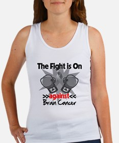 The Fight is on Brain Cancer Women's Tank Top