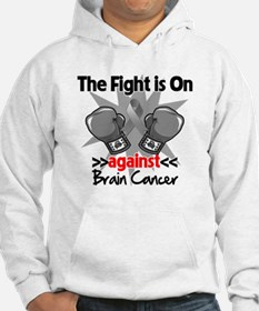 The Fight is on Brain Cancer Hoodie