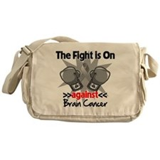 The Fight is on Brain Cancer Messenger Bag