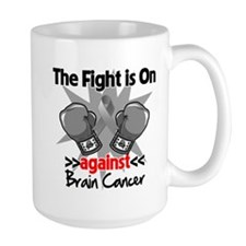 The Fight is on Brain Cancer Mug