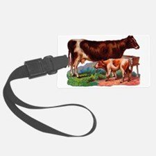 Cow and Calf Luggage Tag