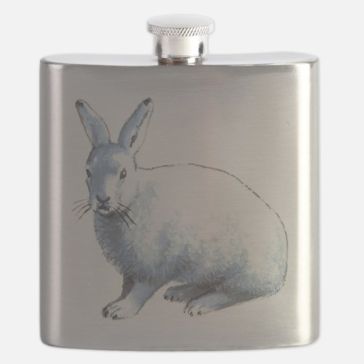 Arctic Snow Hare Flask