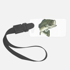 large mouth bass Luggage Tag