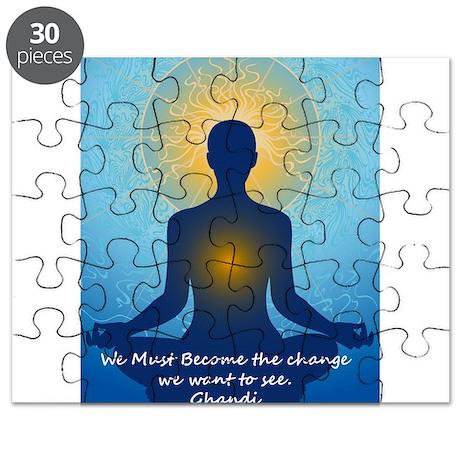 Ghandi quote Puzzle