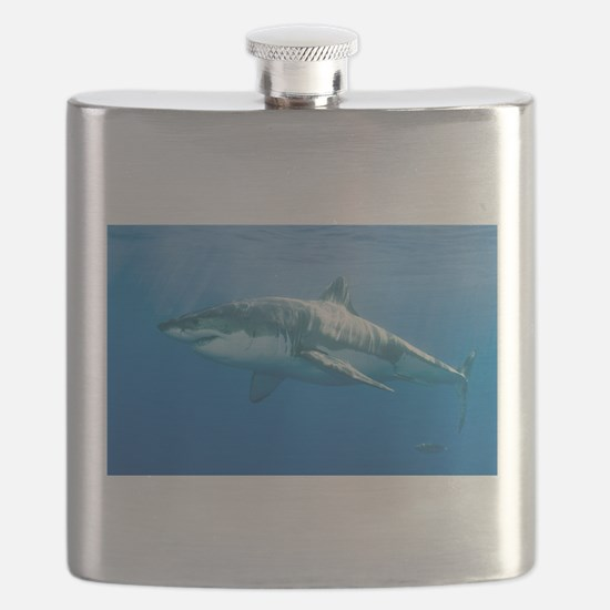 Great White Shark Flask