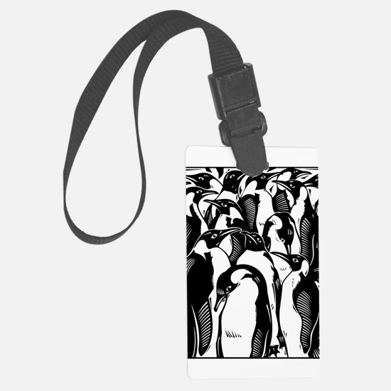 Penquins Luggage Tag