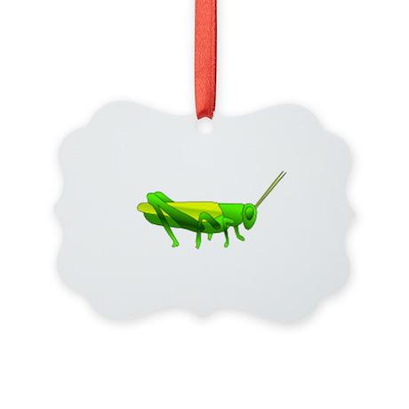Grasshopper Picture Ornament