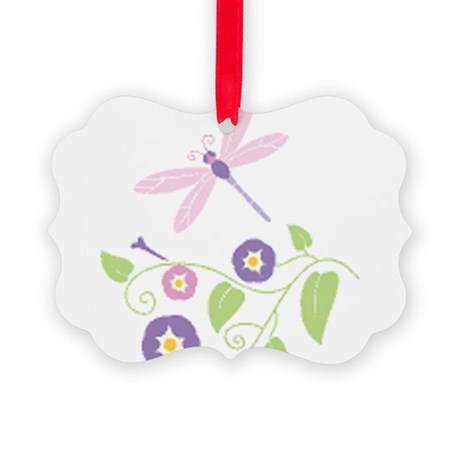 Dragonfly Picture Ornament